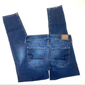 American Eagle AE jeans skinny sz 4 short